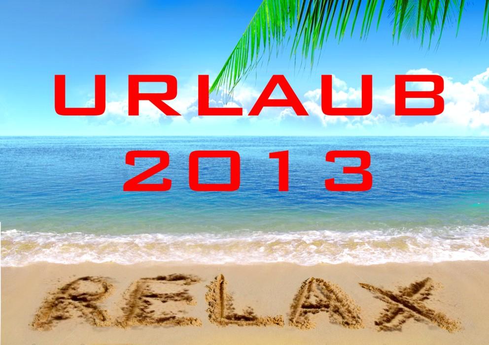 Urlaub 2013