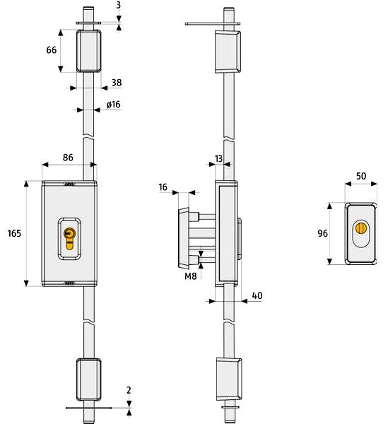 ABUS TSS-550-03