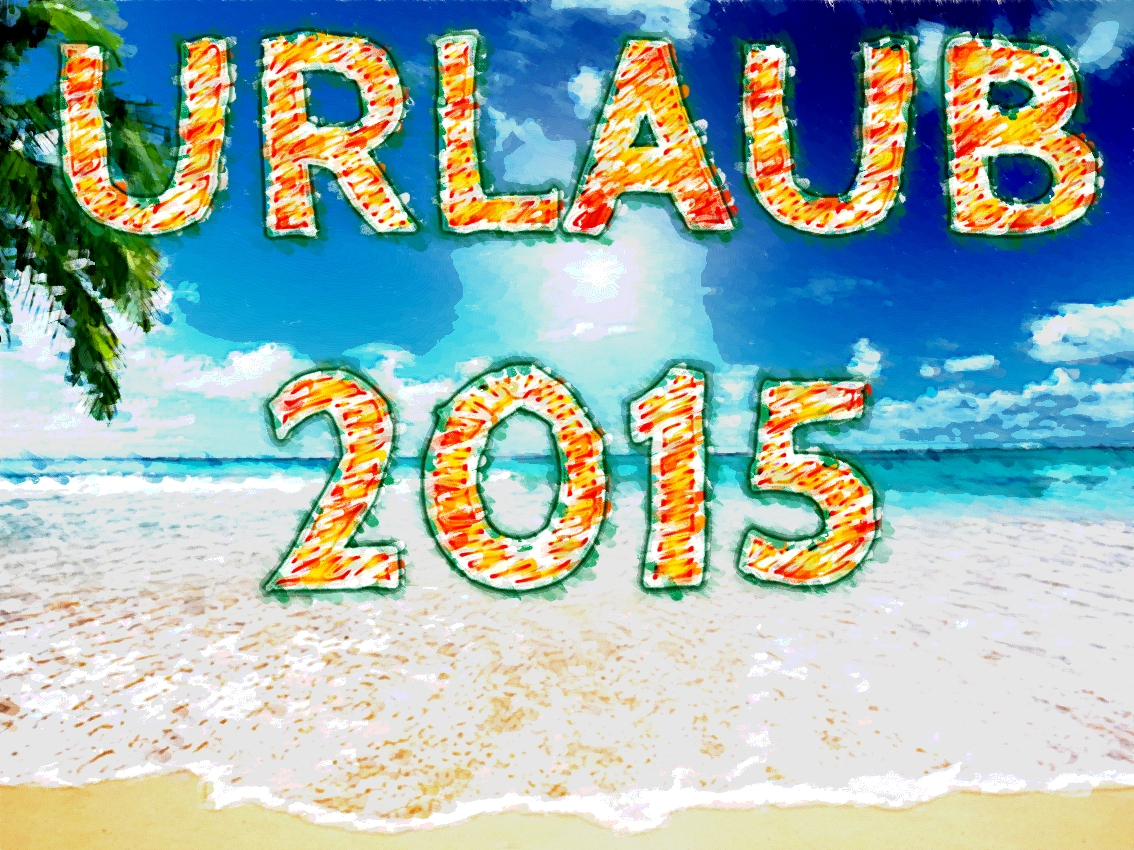 Urlaub 2015